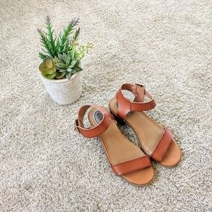 Stevie's chunky stacked heel sandals